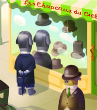Magritte's Marvelous Hat Page 2.